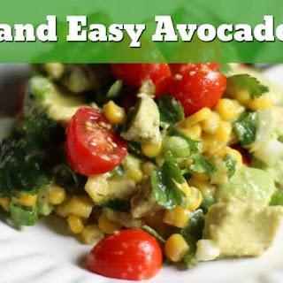 Quick and Easy Avocado Salad