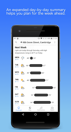 Dark Sky - Hyperlocal Weather  screenshots 4