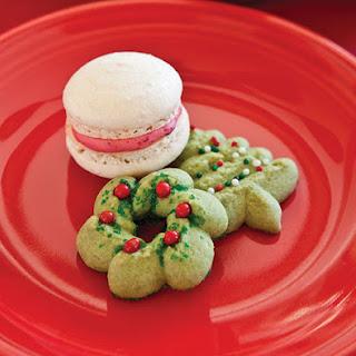 Matcha Christmas Cookies.