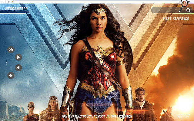 Wonder Woman Hd Wallpapers New Tab