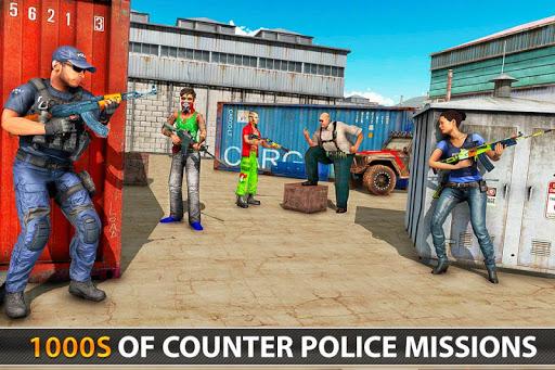 Police Counter Terrorist Shooting - FPS Strike War apkpoly screenshots 6