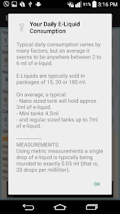 E-Liquid Nicotine Calculator screenshot 1