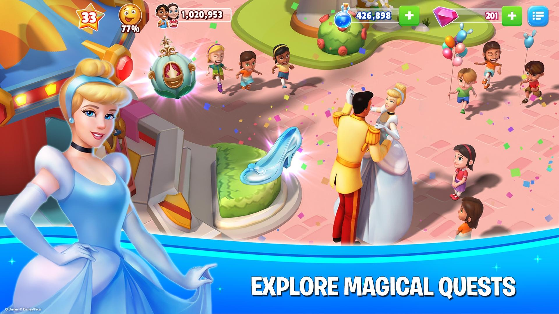 Disney Magic Kingdoms screenshot #8