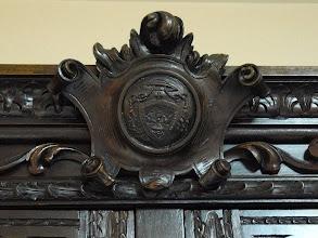 Photo: Museo - Armario - Detalles: escudo