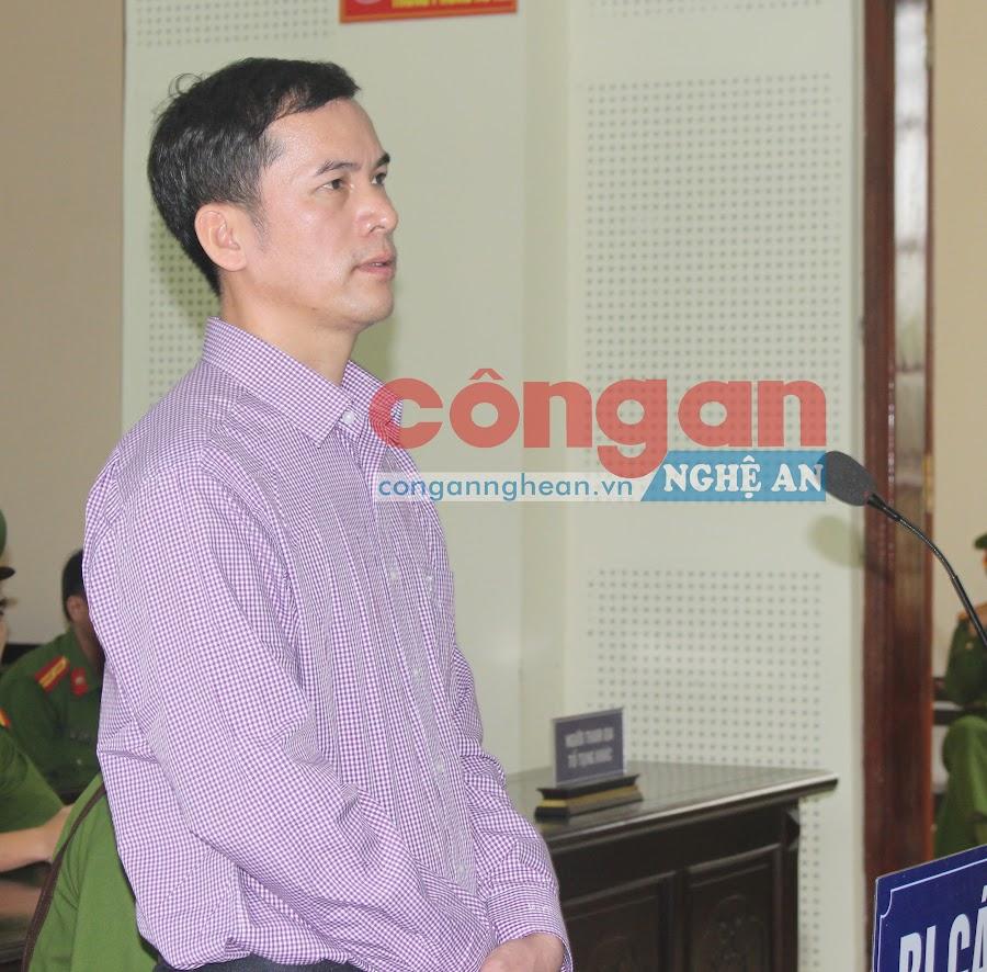 Nguyễn Năng Tĩnh tại phiên tòa