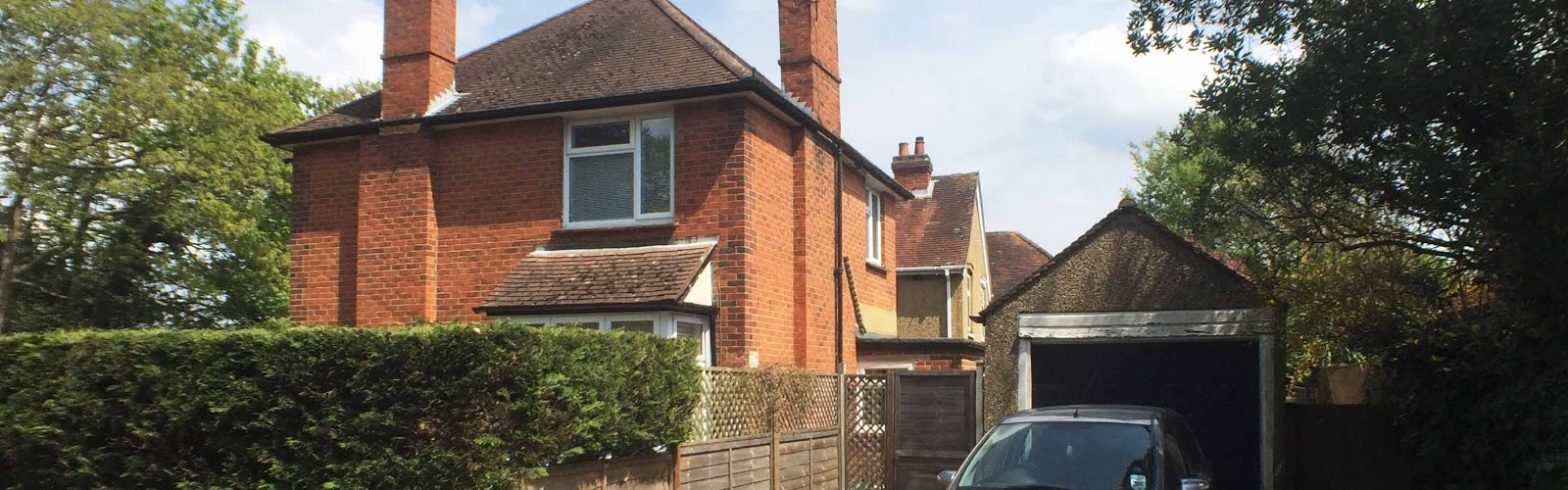 single storey extension of a detached family house