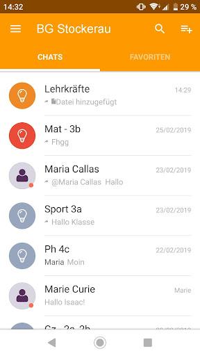Untis Messenger  screenshots 1
