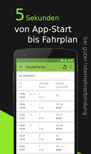 Pendel Panda Timetable screenshot 1