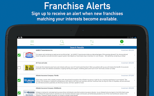 Find Franchises for Sale- screenshot thumbnail