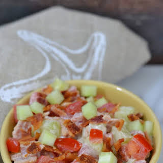 Cucumber Tomato Bacon Salad Recipes.