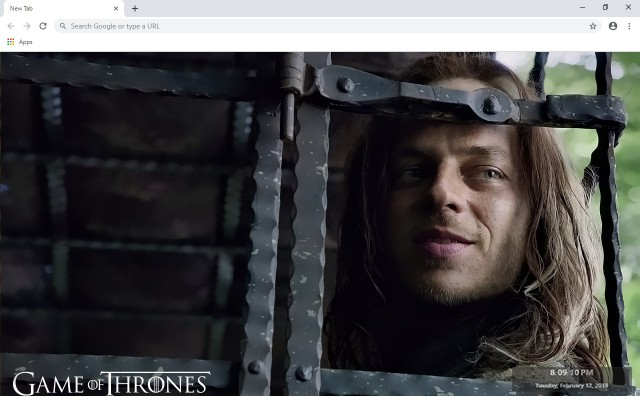 Jaqen H'ghar New Tab & Wallpapers Collection
