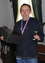Photo: Безоговорочный Чемпион Vancouver Express Open 2010 - Станислав Кривенцов с призами и подарками. Stan Kriventsov - International Chess Master.