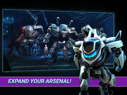 Fusion Guards: AI Mech War apkmr screenshots 7