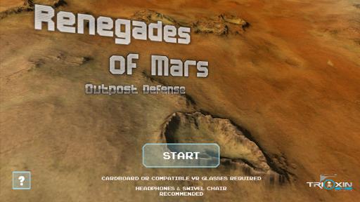 Renegades of Mars VR
