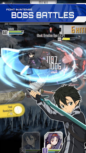 SWORD ART ONLINE Memory Defrag modavailable screenshots 1