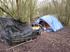 Photo: Day 2 - Wild Camping for the First Time!