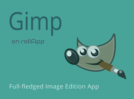 GIMP on rollApp