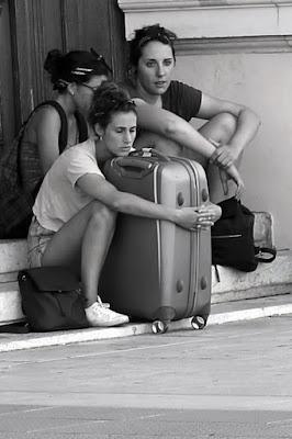 Amica di viaggio. di gfg