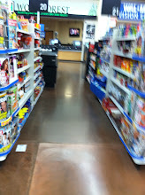 Photo: Checkout aisle is clear here, which is awesome! Love a fast checkout so I can get home faster!