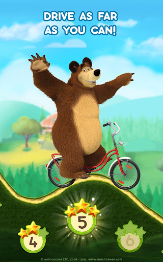 Masha and the Bear: Climb Racing and Car Games 0.0.3 screenshots 12