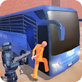 Angry Criminals Transport: Police Bus Sim
