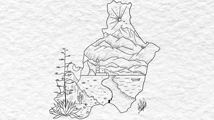El diseño para un tatuaje creado por la almeriense Andrea Morales.