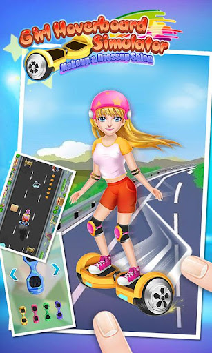 Girl Hoverboard Simulator