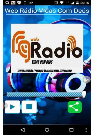 Web Rádio Vidas Com Deús