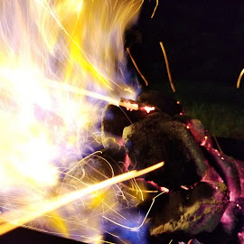 Astray by Chelsea Mason - Abstract Fire & Fireworks ( laser, fire, lights,  )