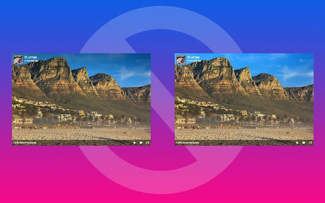 Flickr Gradient Block