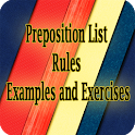 Preposition Rules Examples icon