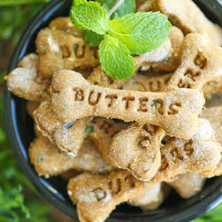 Pumpkin Apple Doggie Mint Treats.