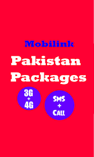 All Mobilink Packages Pk - náhled