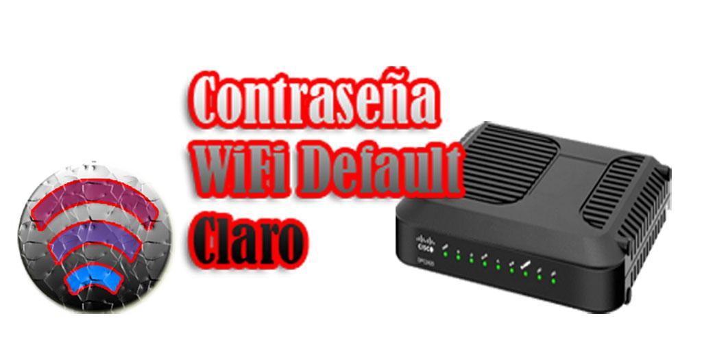 Contraseña wifi Default Claro 1 0 Apk Download - com