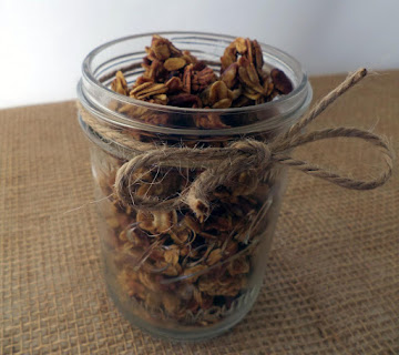 Pumpkin Crunch Granola Recipe