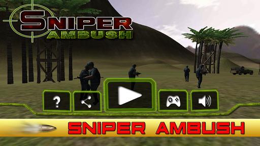 狙击手伏击 - 3D射击游戏