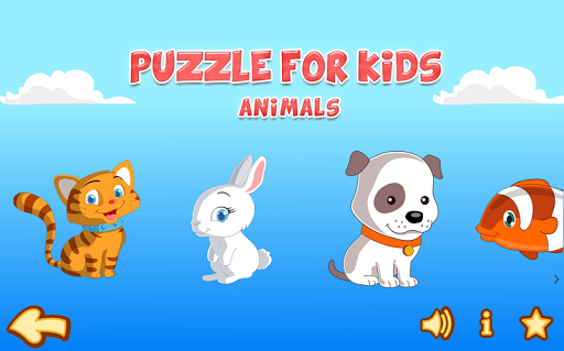 puzzle for kids - Animals