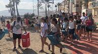 Quedada para limpiar la playa de El Zapillo.