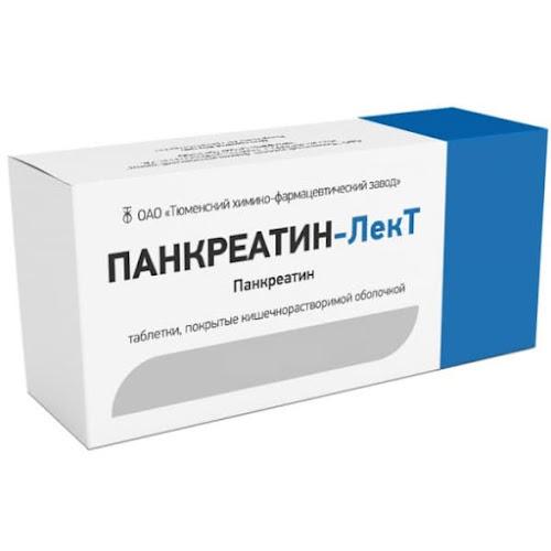 Панкреатин-Лект таб. №90