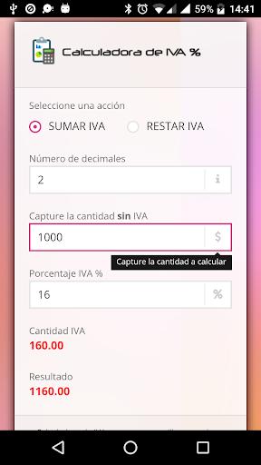 Foto do Calculadora de IVA %