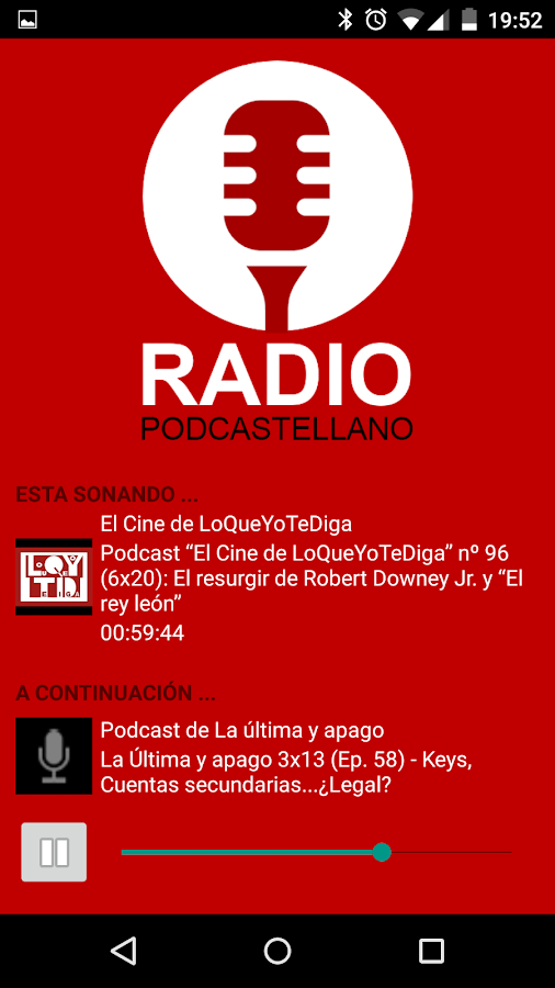 Radio Podcastellano- screenshot