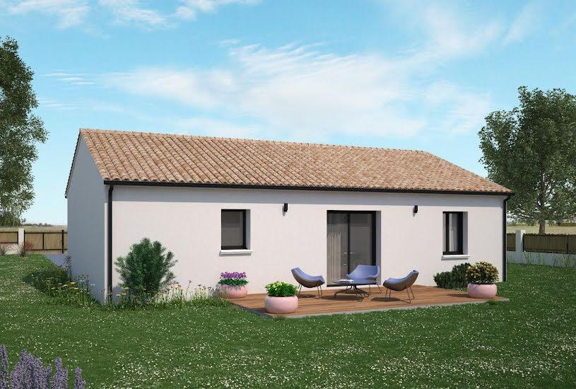 Vente Terrain + Maison - Terrain : 2010m² - Maison : 69m² à Anché (37500)