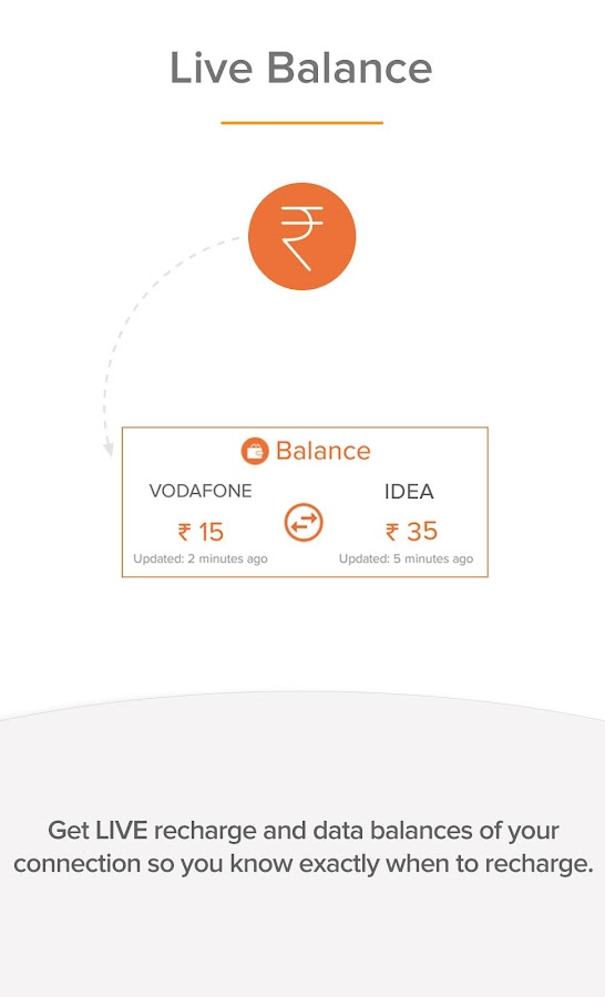 Recharge Plans Offers & Wallet- screenshot