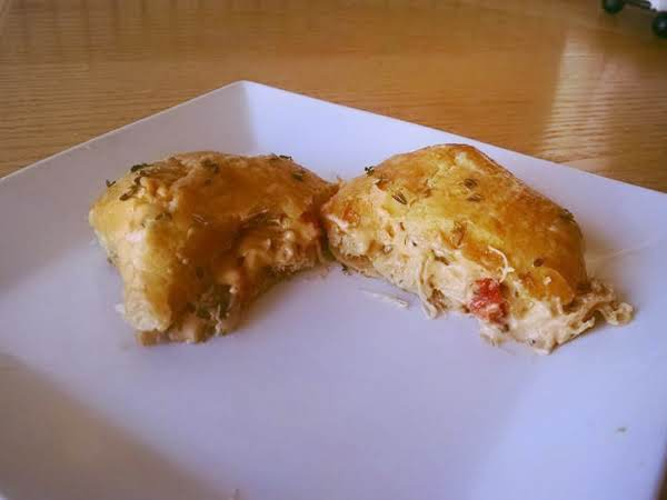 Cheesy Chicken In Puff Pastry Recipe