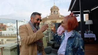 La rooftop del AIRE Hotel & Ancient Baths Almería es el lugar ideal.