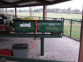 Photo: Richard Finlayson's box car.  HALS 2009-0228