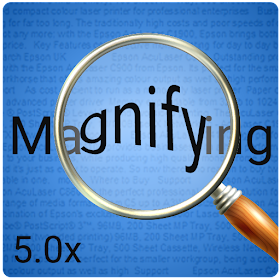 Magnifying Glass with Page Magnifier & Flashlight