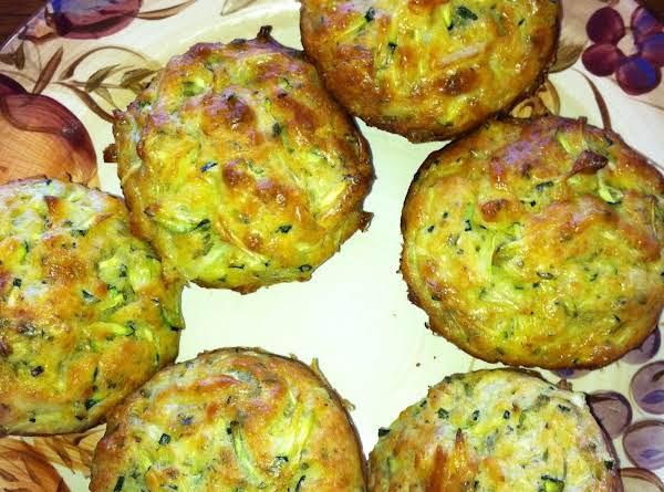 Zucchini (or Spinach) Squares (or Mcmuffins) Recipe