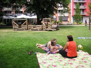 Photo: Familien-Idylle mitten im Park