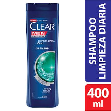 Shampoo CLEAR men   anticaspa 2 en 1 x400ml